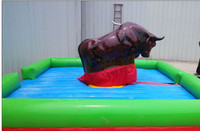 amusement equipment no.1 chinese manufacturer customized inflatable mechanical rodeo bull