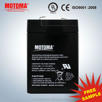 6v 4ah used car rechargeable battery