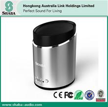 2014 hot portable metal bluetooth 3.5mm stereo plug mini speaker