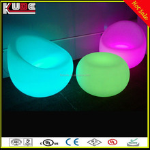 Best Selling Rotomolding Plastic PE Glowing Furniture/Outdoor Modern LED Bar Furniture From China Foshan Furniture Factory