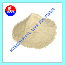 Hydroxypropyl guar gum powder is mainly used in oil well fracturing as fracturing fluid thickening agent