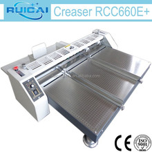 660mm Large Size Paper Creasing Machine from Manufacturer