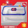 Best quality discount china clear plastic box with lock