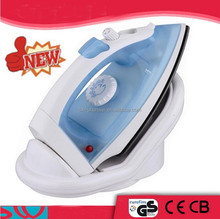 Deluxe Professional Cordless Clothes Mini Travel Steam Iron/Powerful burst Cordless iron