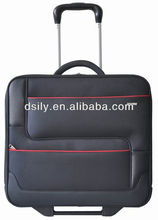 angled pattern design laptop business trolley case