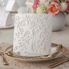 Top grade and beautiful leaf shape card for wedding