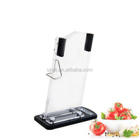 single excellent price high clear acrylic knife holder