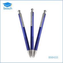 2015 high quality metallic pens blue