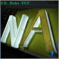 sample free acrylic led light letter for advertising