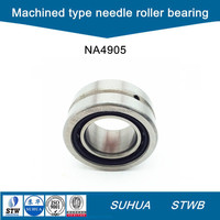 Machined type needle roller bearing with inner ring NA4905