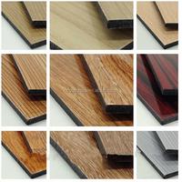 wood aluminum pattern composite panel/ACP/ACM/Interior wall /decoration/signage/Linyi Manufacture