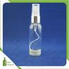 2oz 60ml clear color bullet spray plastic pet bottle