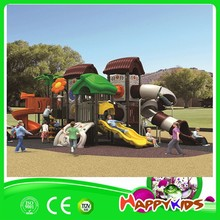 New design hot sale children game equipment, used plastic kids outdoor playground slide