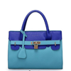 Famous Brand Designer 2015 New Arrival fashion patchwork women handbags pu leather women's messenger bag shoulder bag