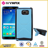 accessories PU cell phone case for Samsung note5 with stander case