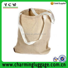 """13"""" X 13"""" ~ 100% Cotton ~ Natural Color Large Tote Bags"""