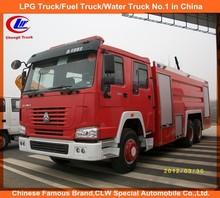 CNHTC Sinotruk HOWO 6x4 water foam fire fighting truck 10 wheeler fire fighting truck