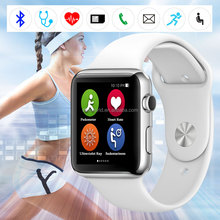 IWO Bluetooth 4.0 Waterproof IP57 Smart Watch with Heart Monitor Pedometer
