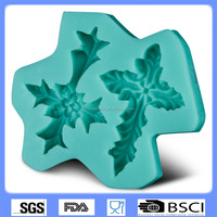 silicone cake mold decorating tools leaf-mould fondant mold CD-F363