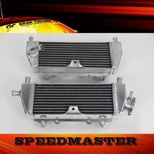 all aluminum motorcycle radiator for Kawasaki KX125 KX250 94-02
