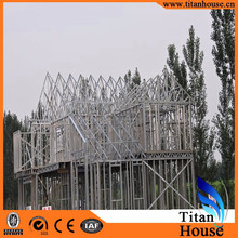 Modern Design Galvanized Steel Frame Luxury Prefab Kit Homes