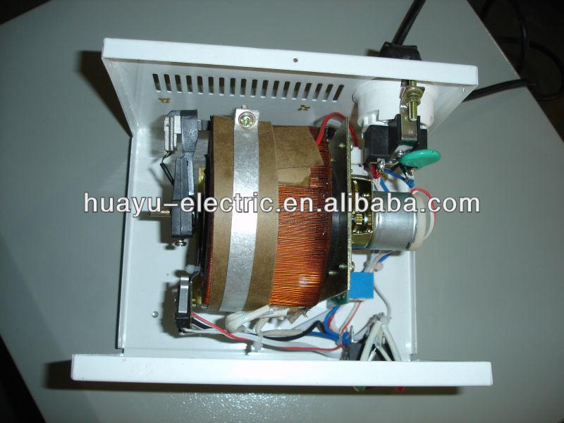 Single Phase Servo Motor 220v Ac Voltage Stabilizer Buy