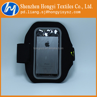 Customized adjustable hook and loop for velcro armband phone cases