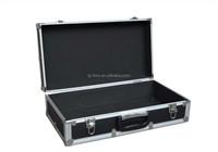 Black Aluminum Empty Carrying Tool Case
