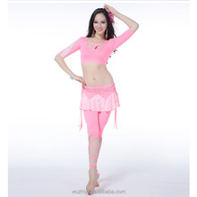 Wuchieal Latest Hot Design Belly Dance Costume, Pink Japanese Girl Sex Costume Parti Costume
