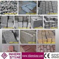 Factory sale granite cobblestone paver for sale