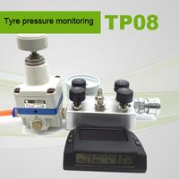 Display with visual and audible warning external sensor wireless tpms