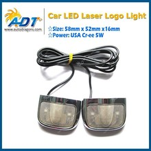 Customized film Stick car logo light for brand cars
