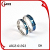 New products 2015 gay men rings,fashion blue jewelry men gay ring