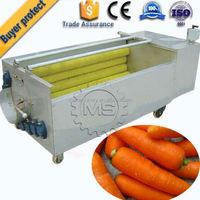 good quality sweet potato brush cleaning machine machine