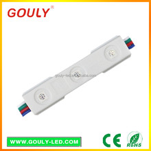 hotsell module led rgb and Single color SMD5050 LED module (waterproof backlight)