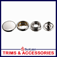 New promotional ring fabric snap fasteners