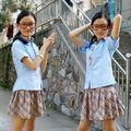 el 2014 latestprimary diseños de uniformes escolares