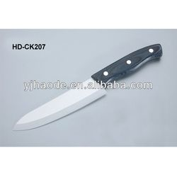 HD-CK207 chef Ceramic knife with Colorful wood handle wooden handle ceramic kitchen knife