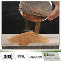 Calcium lignin sulfonate CLS/admixture for concrete mixes