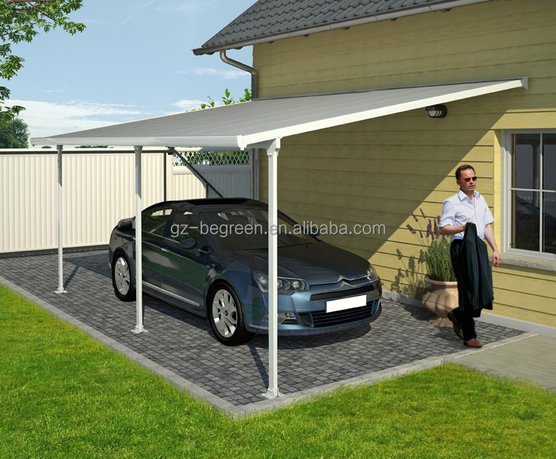 3 X 5.5 X2.7m Long-life Using Mental Carports,Aluminum Car ...