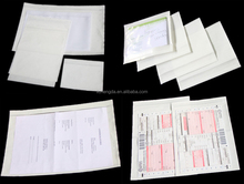back load grip seal documents enclosed clear plastic bag