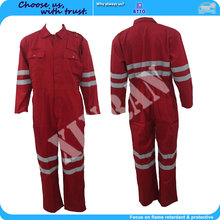Factory Sale FR Reflective Flash Protection HRC2 Flame Retardant Clothing With Polyester Cotton Fabric From Xinxiang