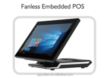High-end fold-able POS System/Fanless Embedded POS for desktop/wall-mounted