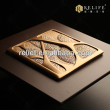3D relief abstract resin wall art swan abstract painting