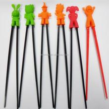 animals learning chopsticks/children training silicone chopsticks holder