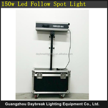 6 color 150w Led follow spot light with Flight case / Flycase / Road case packing