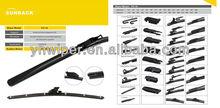 20 models original type soft wiper blade for VW,Ford,BMW,Mercedes,Renault,Volvo,etc