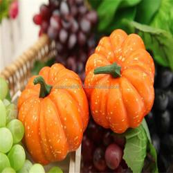 2016 home decor Halloween Foam Pumpkins Simulation Fruit