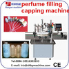 china supplier automatic perfume bottle liquid filling machine lines/0086-18516303933