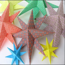 New design 3D wall decor creative star for wall hanging /sticking